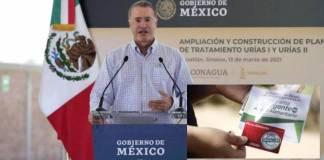 """FGR investiga a Quirino Ordaz por entrega de tarjetas """"Puro Sinaloa"""""""