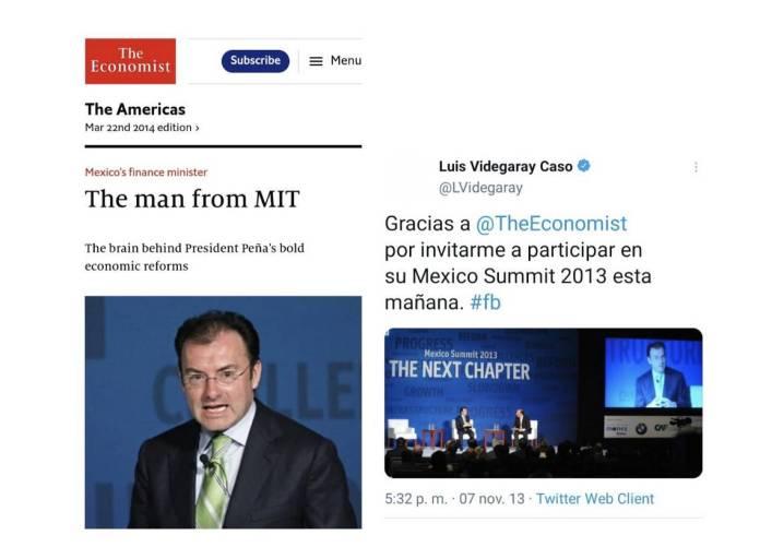 14 - La agenda de Claudio X. González, The Economist y Salinas