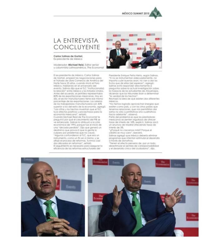 17 - La agenda de Claudio X. González, The Economist y Salinas