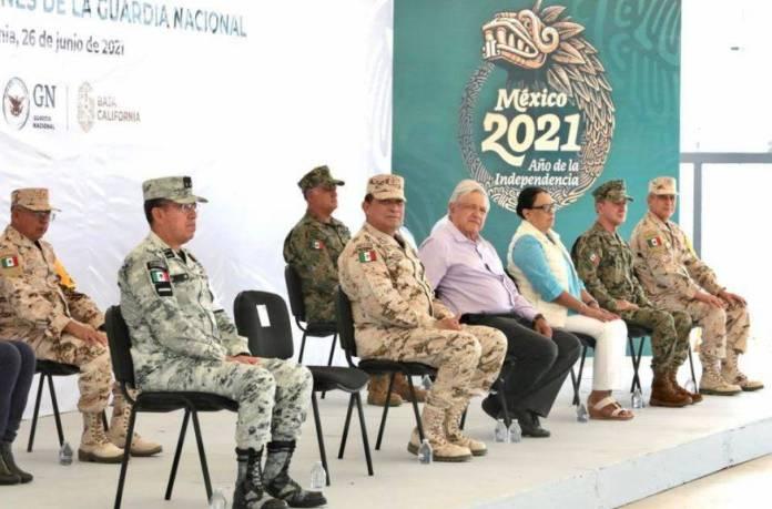AMLO guardia nacional  - Elementos de la GN deben tener sueldo y prestaciones a la altura del esfuerzo: AMLO