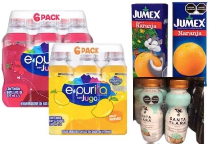 Exhiben a Nestlé, Jumex y Del Valle por engañar a consumidores don doble empaque