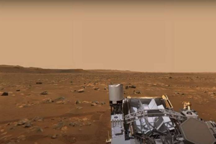 La NASa comparte el primer video 360º de Marte