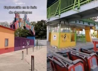 ¡Terrorífico! Así luce la Feria de Chapultepec a mas de un año de su cierre