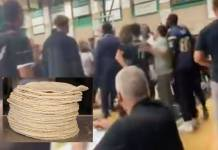 Lanzan tortillas a equipo de alumnos latinos durante partido de basquetbol en secundaria de EU