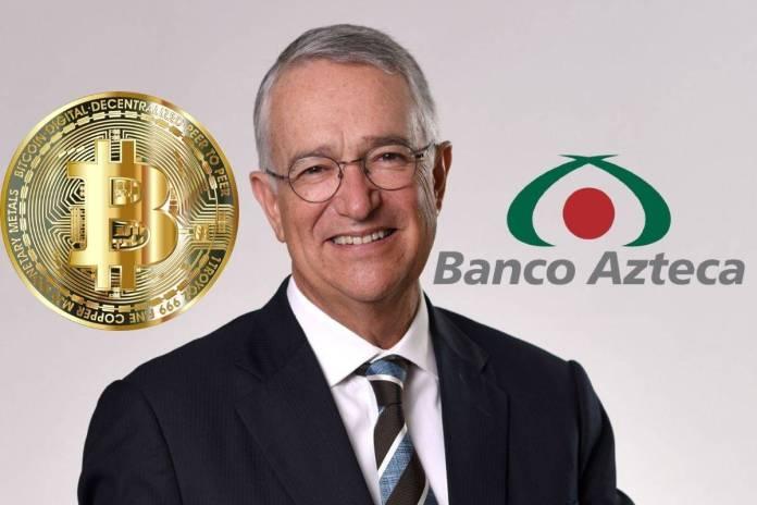Banco Azteca se alista para aceptar Bitcoins, así lo anunció Salinas Pliego
