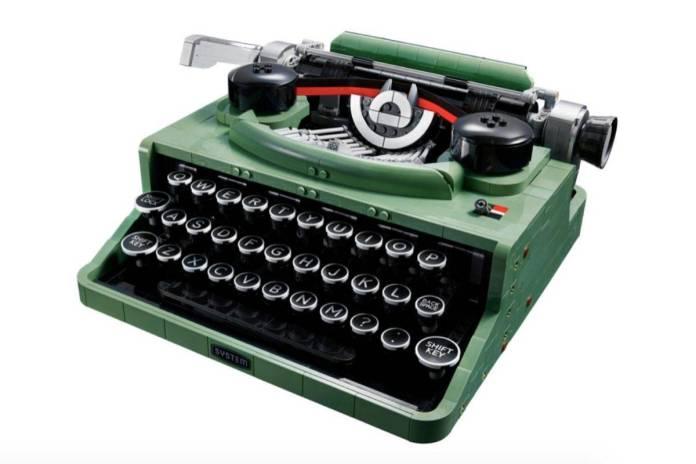 Lego lanzará una máquina de escribir para hacernos viajar en el tiempo
