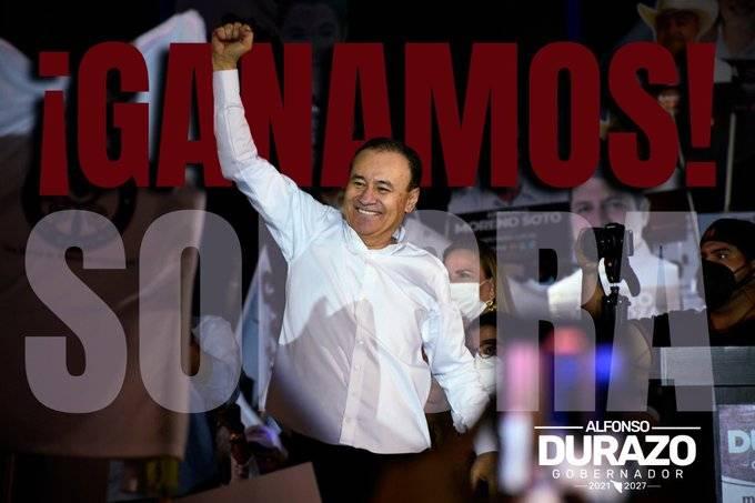 Encuestas de salida dan triunfo a Durazo en Sonora