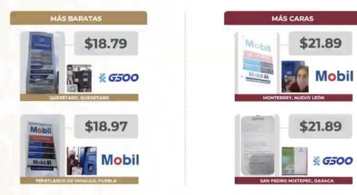 IMG 3337 e1623072900449 - La gasolina más barata se vende en Querétaro y la más cara en Nuevo León: Profeco