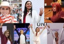 7 mujeres ganadoras hacen historia; se convierten en gobernadoras