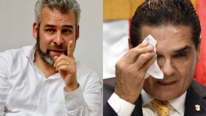 """Bedolla responde a Auroles; """"vamos entrar con la frente en alto como gobernador de Michoacán"""""""