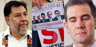 """El INE busca """"sabotear"""" la consulta para enjuiciar a los expresidentes: Noroña"""