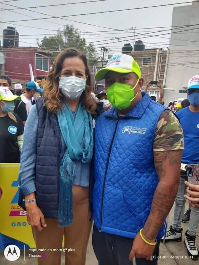 WhatsApp Image 2021 06 05 at 19.12.22 2 - Candidato del PAN por Miguel Hidalgo y Margarita Zavala, ligados a líder de 'Unión Tepito'