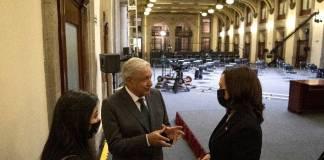 AMLO concreta acuerdos económicos y migratorios con Kamala Harris