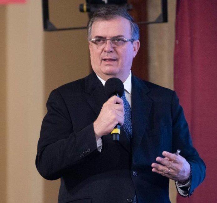 Ebrard presentará plan de reapertura gradual de la frontera a Mayorkas