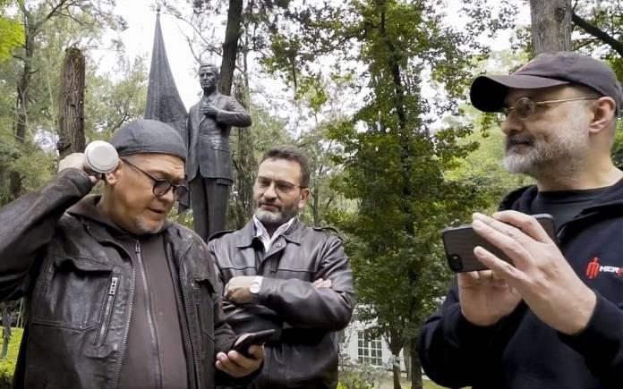 Helguera y los moneros promovieron el juicio contra expresidentes en Los Pinos
