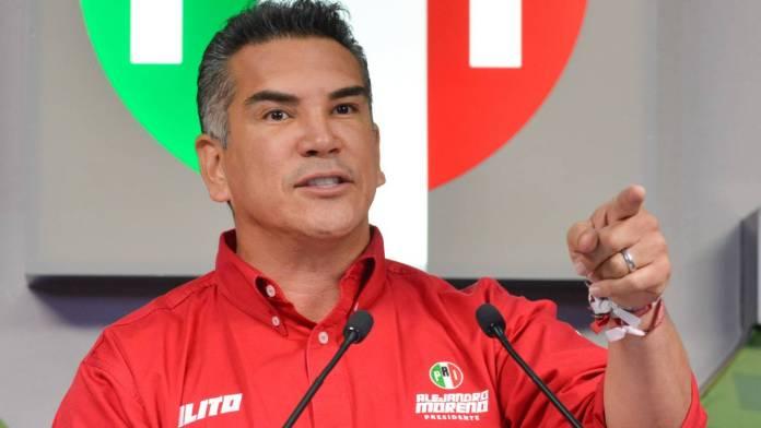 Piden que Alito Moreno se vaya de la dirigencia del PRI o amagan con plantón