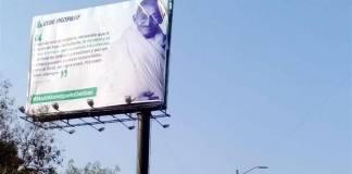 Gobierno de Tijuana censura espectacular contra monopolio del gas