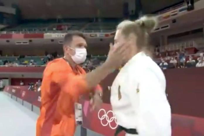 Entrenador cachetea a atleta de judo previo a su pelea en Tokio 2020