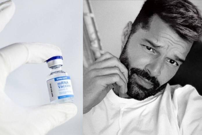Ricky Martin tacha de egocentristas a los que no se quieren vacunar contra Covid-19