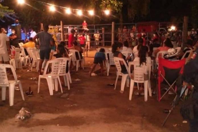 Dispersan a más de 500 personas en un jaripeo en Acapulco