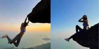 Muere influencer al caer en un acantilado cuando intentaba tomarse una selfie