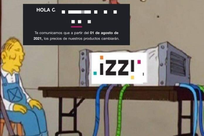 Izzi, empresa de Televisa, avisa que subirán sus tarifas; usuarios los critican por su mal servicio