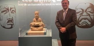 Francia enviará a México piezas arqueológicas para que sean exhibidas