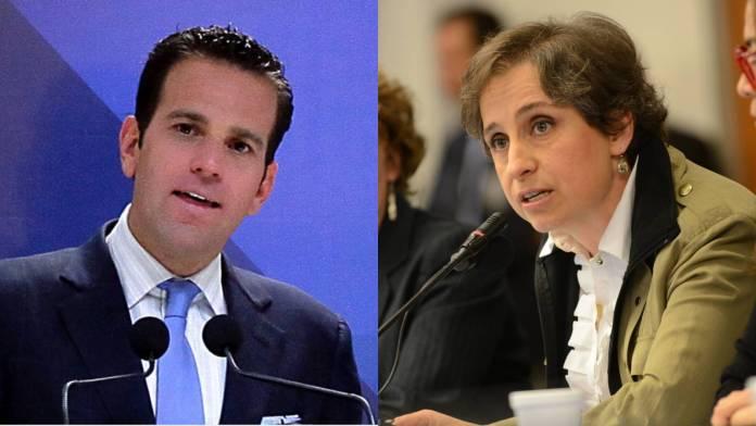 Aristegui responde a Loret: era peoncito de Bernardo Gómez, ahora ¿de quién?