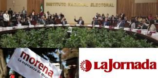 INE prohíbe a legisladores de Morena y a La Jornada difundir la consulta popular