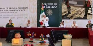 Gobierno de México ha entregado apoyos a más de 240 mil familias afectadas por inundaciones