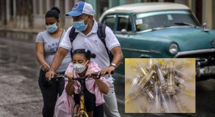 México dona 800 mil jeringas a Cuba para enfrentar la pandemia