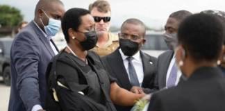 Dan de alta a la esposa del presidente Jovenel Moïse, regresa a Haití