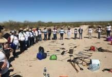 Amenazan a activista de Madres Buscadoras de Sonora, Segob garantiza seguridad
