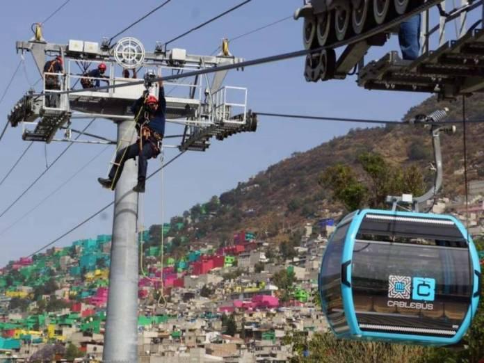 Certifican a elementos de Protección Civil de Iztapalapa para atender emergencia en Cablebús