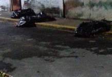 Encuentran 7 bolsas con restos humanos en Chicoloapan, Edomex