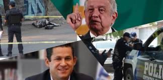 López Obrador señaló que no se cuenta con el apoyo del gobierno de Guanajuato para luchar contra la violencia.