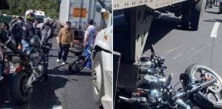 Motociclistas convocan a rodada en memoria de los fallecidos en accidente de la México-Cuernavaca