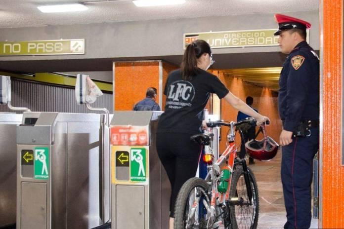 ¿En qué horarios puedes subir tu bicicleta al transporte público en CDMX?