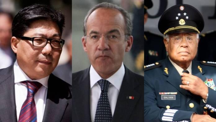 Susumo Azano presentó Pegasus a Calderón y al exsecretario de la Defensa