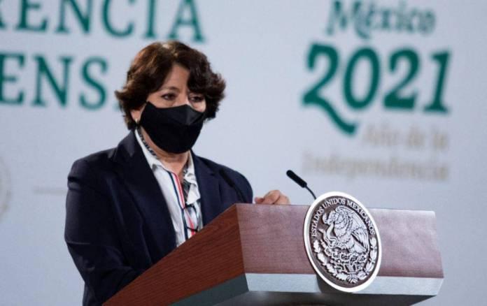 Delfina Gómez agradece a padres que apoyan a rehabilitar escuelas