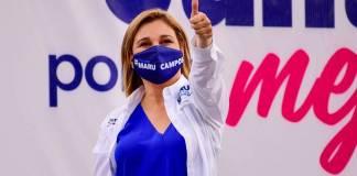 Hospitalizan a Maru Campos por Covid-19