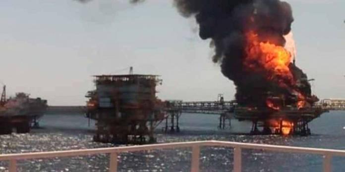 Incendio en plataforma de Pemex dejó 5 personas fallecidas y 2 desaparecidas: Romero