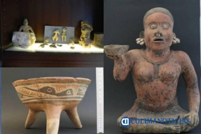 INAH interpone denuncia por subasta en galería alemana de 74 piezas prehispánicas