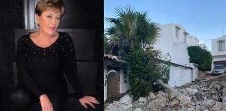 Sylvia Pasquel revela que su casa en Acapulco sufrió daños tras el sismo
