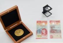 Billete de 100 pesos con Sor Juana recibe el premio al mas bello del mundo