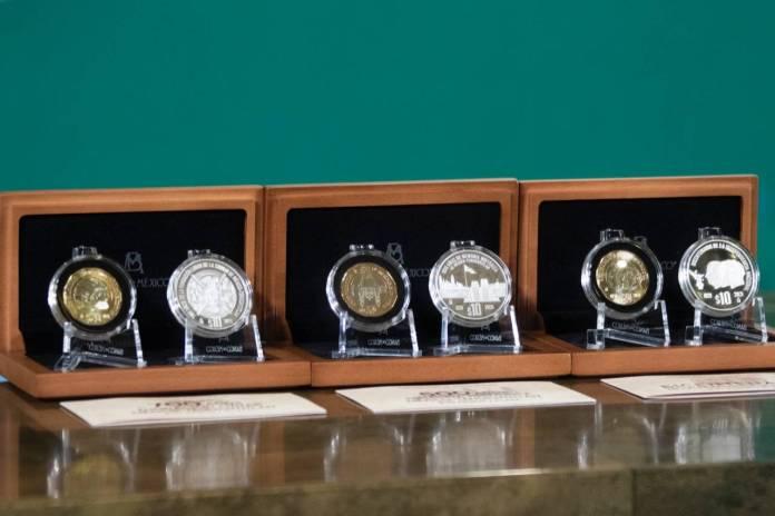 Conoce las 6 monedas conmemorativas, hay 3 de plata