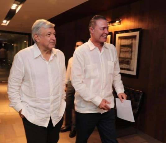 AMLO integrará a su gabinete al gobernador priista de Sinaloa