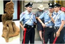 Carabineros impiden venta de bienes arqueológicos de México