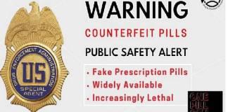 DEA alerta por medicamentos con fentanilo