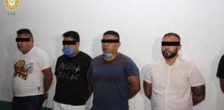 Detienen a cuatro extorsionadores de la Unión Tepito en la Lagunilla